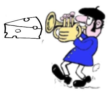 raclette trompette